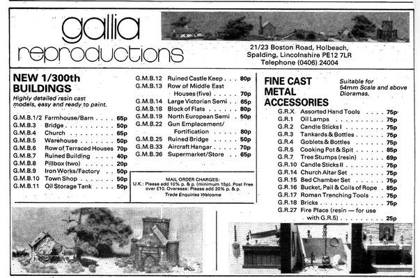 Gallia Reproduction
