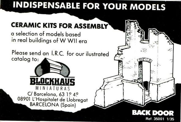 Blockhaus Miniaturas