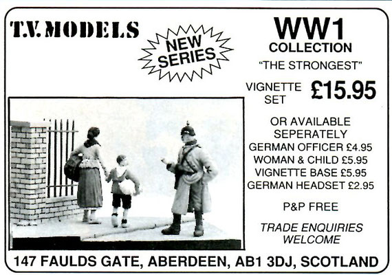 Current Issue Miniatures / T.V. Models