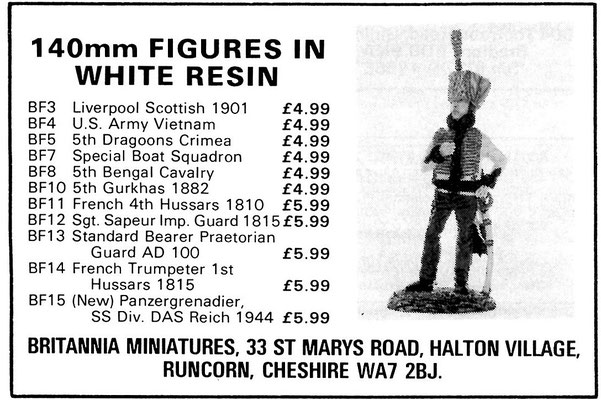 Britannia Miniatures