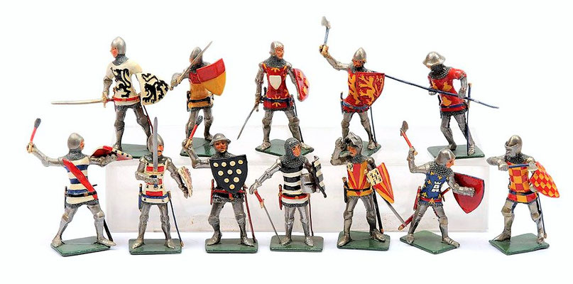 Arkova Figures ( from Vectis auction )