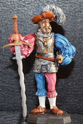 Rose Miniature 54mm