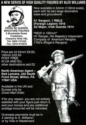 Croix de Guerre Miniature Figurines