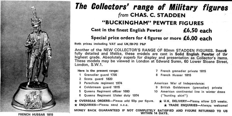 Buckingham Pewter