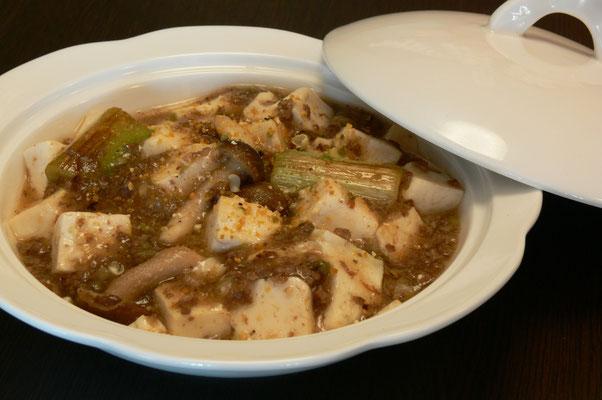 JAPANな味わいの麻婆豆腐