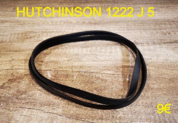 COURROIE LAVE-LINGE : HUTCHINSON 1222 J 5