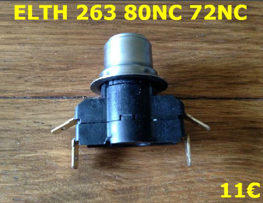 KLIXON : ELTH 263 80NC 72NC