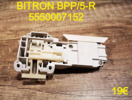 VERROU DE PORTE LAVE-LINGE : BITRON BPP/5-R 5550007152