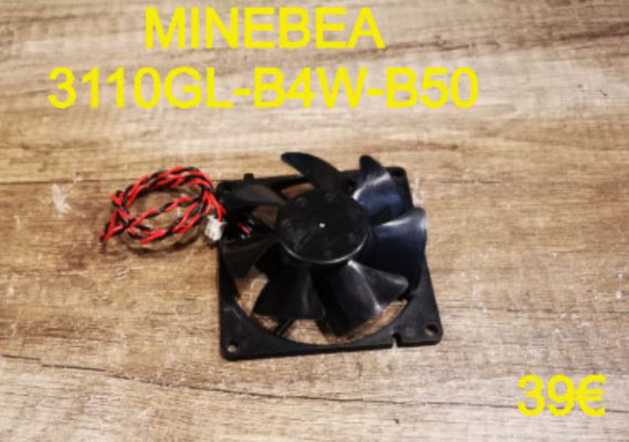 VENTILATEUR PLAQUE VITROCÉRAMIQUE : MINEBEA 3110GL-B4W-B50