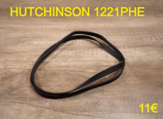 COURROIE LAVE-LINGE : HUTCHINSON 1221PHE