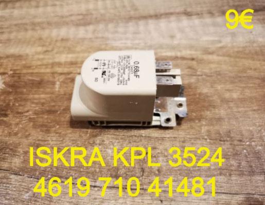 FILTRE ANTI-PARASITES : ISKRA KPL3524 461971041481