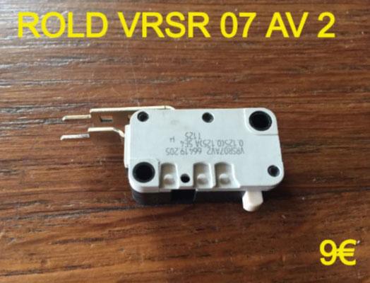 MICRO-SWITCH : ROLD VRSR07AV2