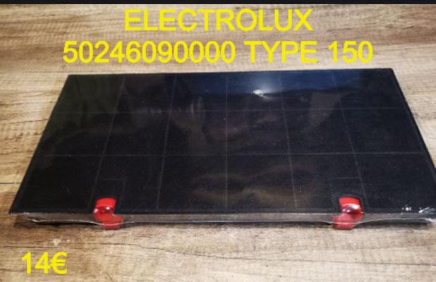 FILTRE DE HOTTE : ELECTROLUX 50246090000 TYPE 150
