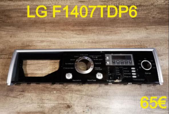 BANDEAU LAVE-LINGE : LG F1407TDP6