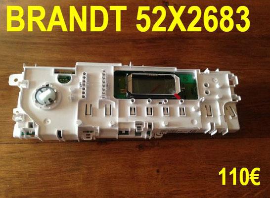 CARTE DE COMMANDE LAVE-LINGE : BRANDT 52X2683