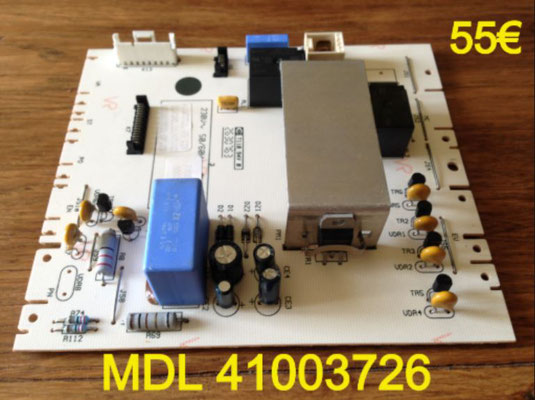 CARTE DE PUISSANCE LAVE-LINGE : MDL 41003726