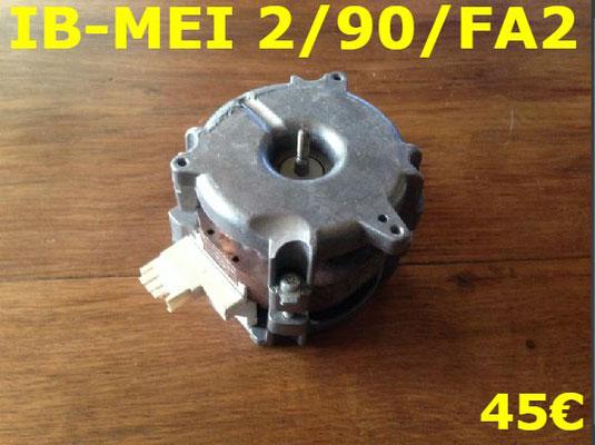 POMPE DE CYCLAGE LAVE-VAISSELLE : IB-MEI 2/90/FA2