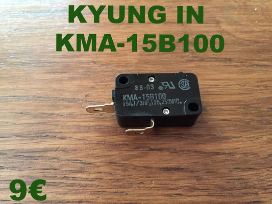 MICRO-SWITCH : KYUNG IN KMA-15B100