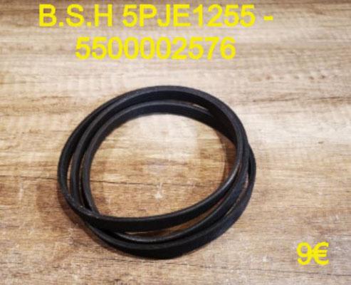 COURROIE LAVE-LINGE : B.S.H 5PJE1255 - 5500002576