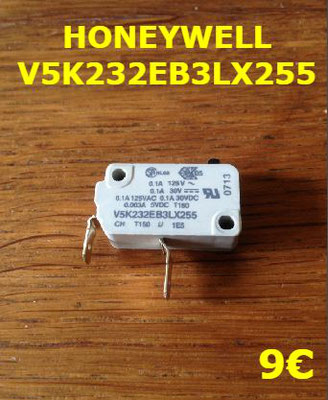 MICRO-SWITCH : HONEYWELL V5K232EB3LX255