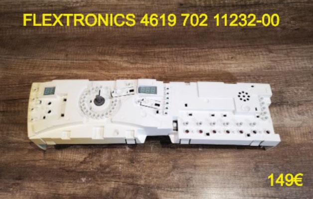 CARTE DE COMMANDE LAVE-LINGE : FLEXTRONICS 461970211232-00
