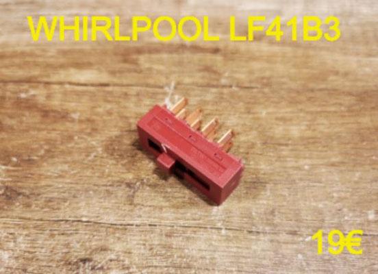 CARTE DE COMMANDE HOTTE : WHIRLPOOL LF41B3