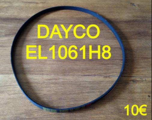 COURROIE LAVE-LINGE : DAYCO EL1061H8