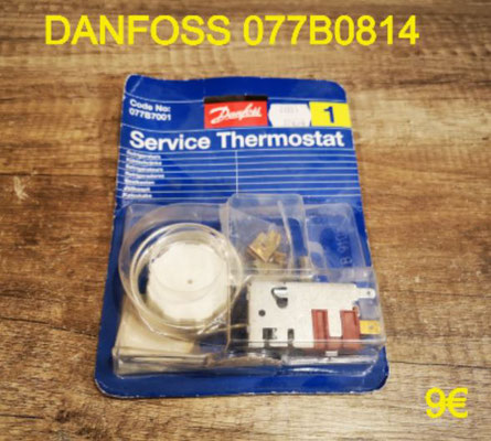 THERMOSTAT FRIGO : DANFOSS 077B0814