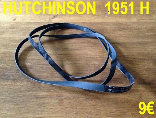 COURROIE SÈCHE-LINGE : HUTCHINSON 1951H