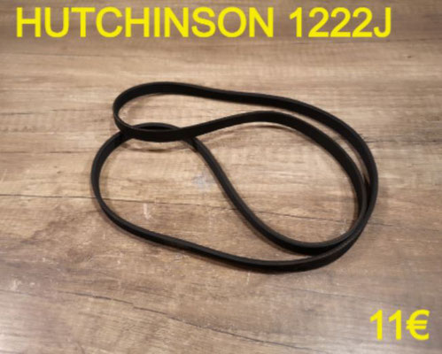 COURROIE LAVE-LINGE : HUTCHINSON 1222J