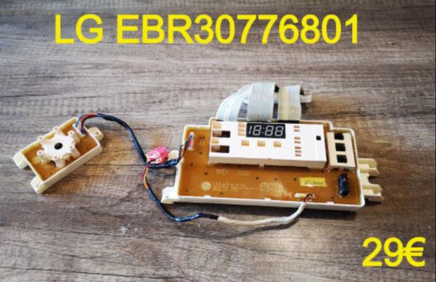 CARTE DE COMMANDE LAVE-VAISSELLE : LG EBR30776801
