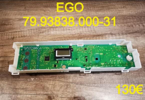 CARTE DE COMMANDE SÈCHE-LINGE : EGO 79.93838.000-31