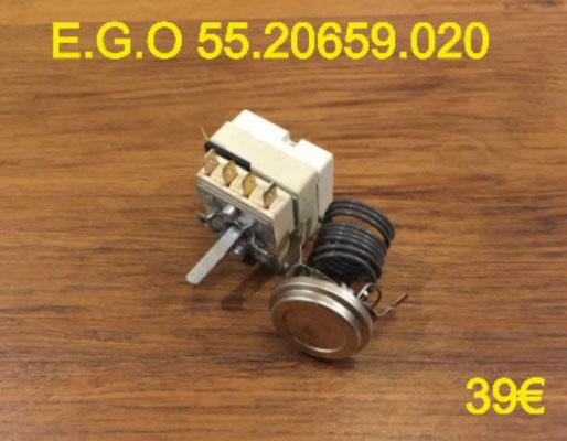 THERMOSTAT DE FOUR : E.G.O 55.20659.020