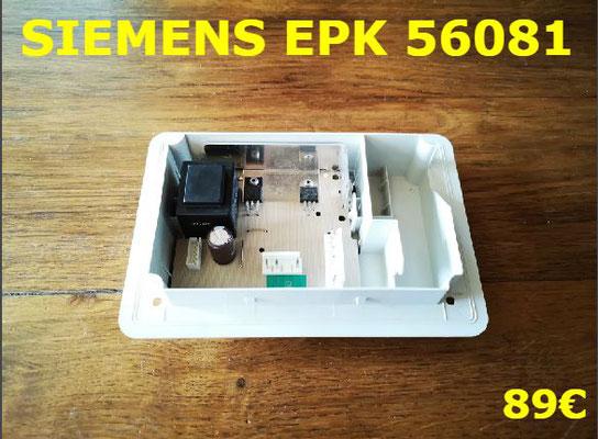 CARTE DE PUISSANCE COMBI : SIEMENS EPK56081
