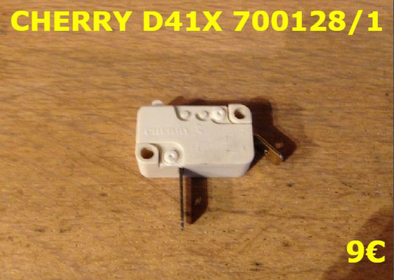 MICRO-SWITCH : CHERRY D41X 2 COSSES 700128/1