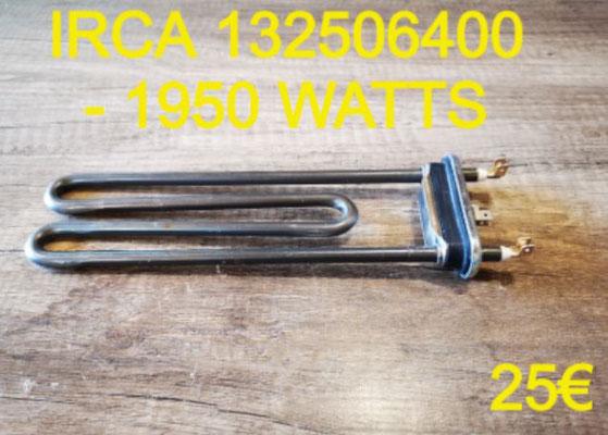 RÉSISTANCE LAVE-LINGE : IRCA 132506400 - 1950 WATTS