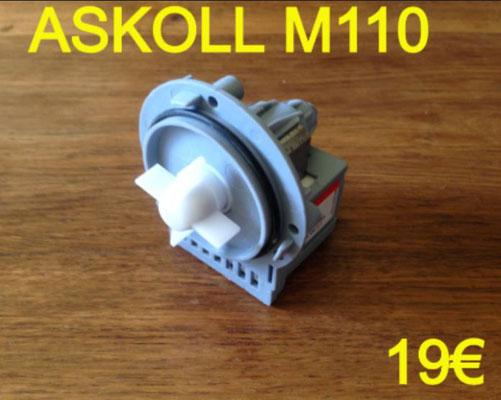 POMPE DE VIDANGE : ASKOLL M110