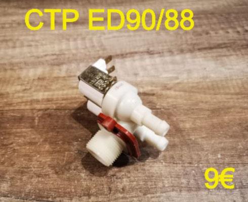 ÉLECTROVANNE 2 VOIE SORTIE 90° : CTP ED90/88