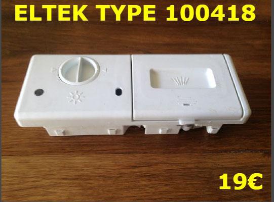BOITE A PRODUITS LAVE-VAISSELLE : ELTEK TYPE 100418