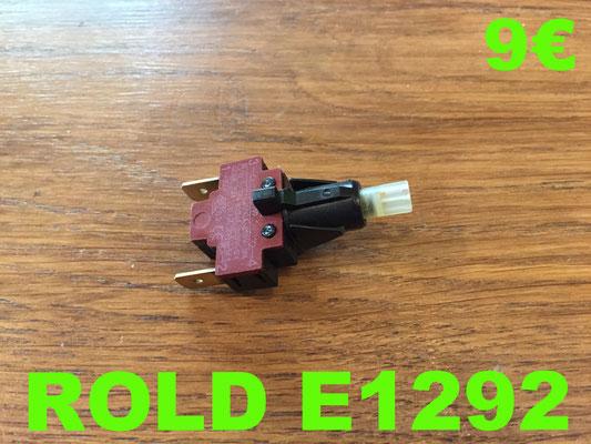 INTERRUPTEUR : ROLD E1292