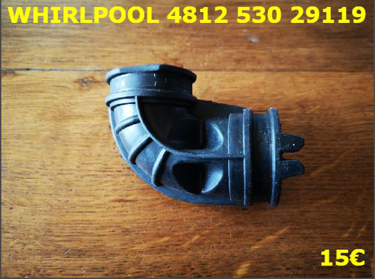 DURITE LAVE-VAISSELLE : WHIRLPOOL 481253029119