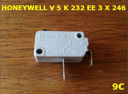 MICRO-SWITCH : HONEYWELL V5K232EE3X246