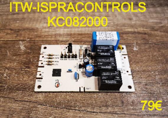 CARTE DE PUISSANCE FOUR : ITW-ISPRACONTROLS KC082000