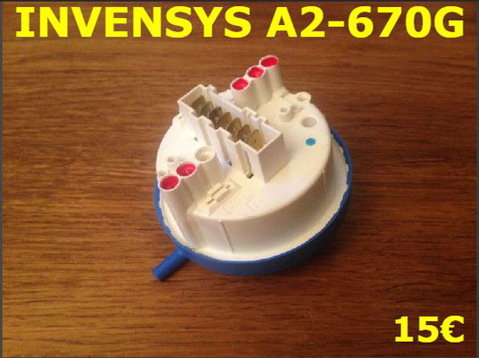 PRESSOSTAT : INVENSYS A2-670G