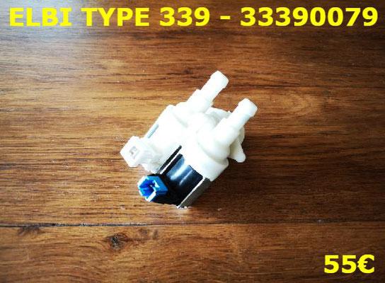 ÉLECTROVANNE 2 VOIE 90° : ELBI TYPE 339 - 33390079