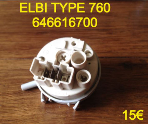 PRESSOSTAT : ELBI TYPE 760 646616700
