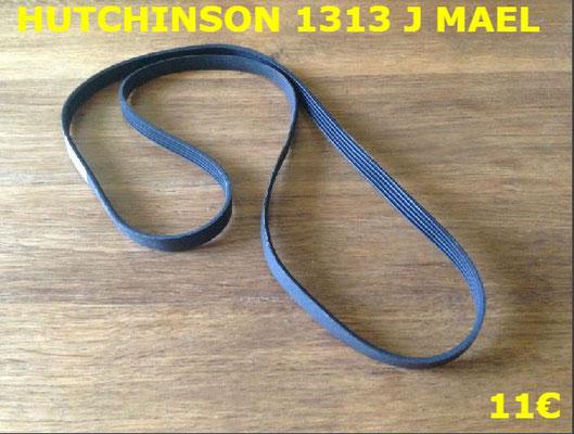 COURROIE LAVE-LINGE : HUTCHINSON 1313J MAEL