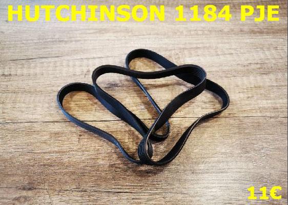 COURROIE LAVE-LINGE : HUTCHINSON 1184PJE