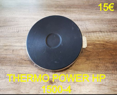 FOYER FONTE : THERMO POWER HP 1500-4