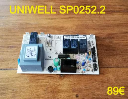 CARTE DE PUISSANCE HOTTE : UNIWELL SP0252.2